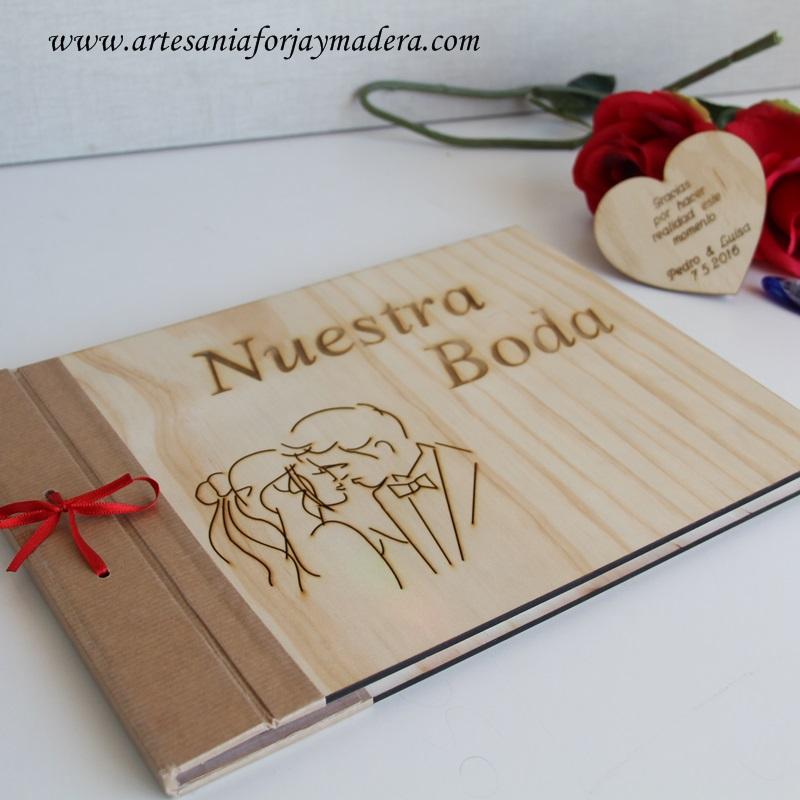 libro de firmas madera original (3)