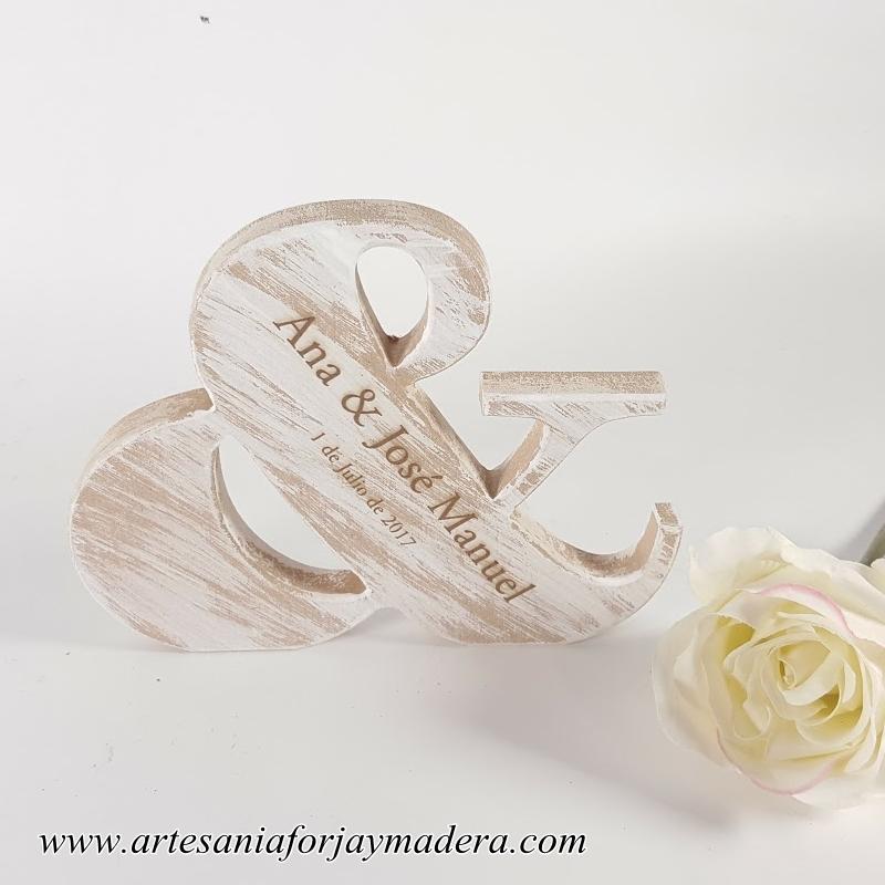 letra & para bodas (1)