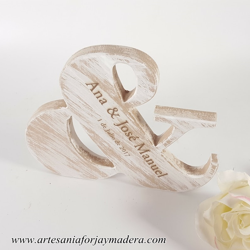 letra & para bodas (2)