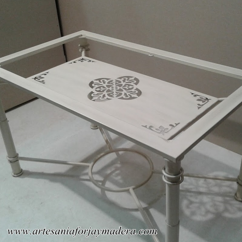mesa camilla de forja (3)