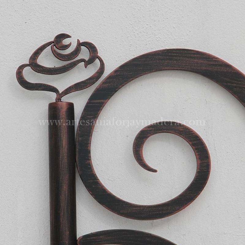 cabecero hierro y forja moderno (4)