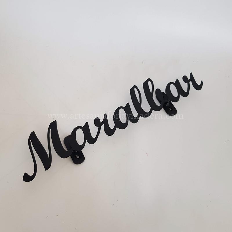 letrero hierro maralbar (2)
