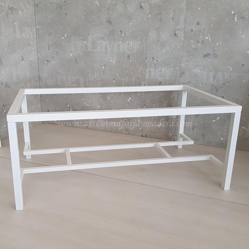 Mesa elevable de hierro para camilla radiador