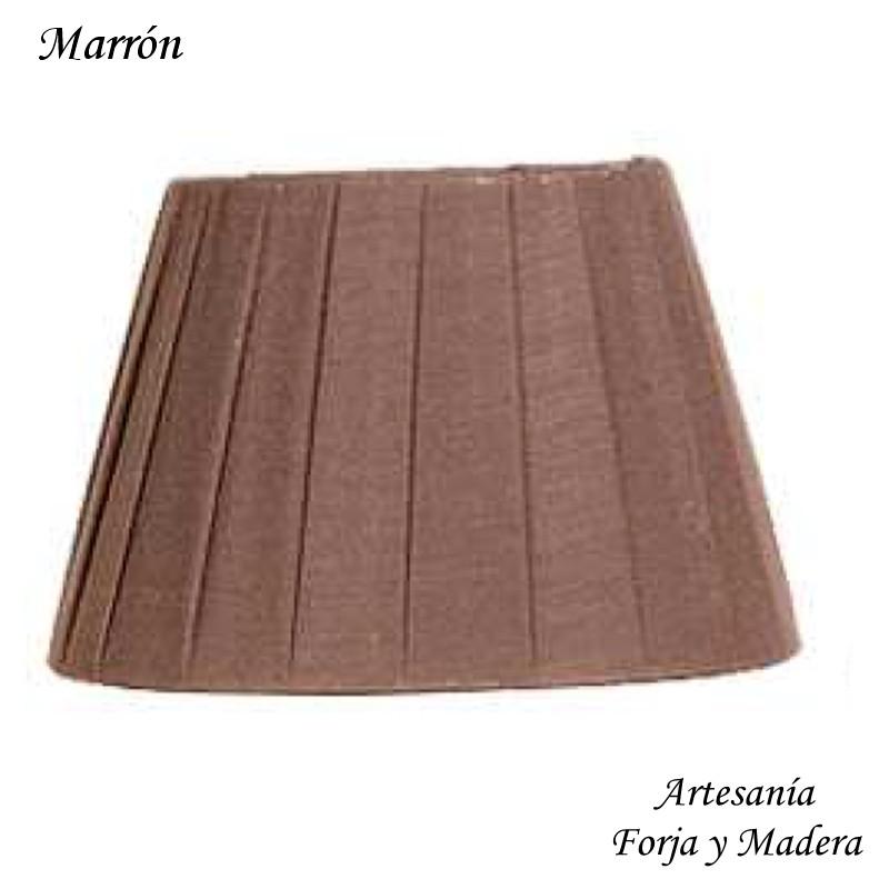 Pantalla Plisada Marron