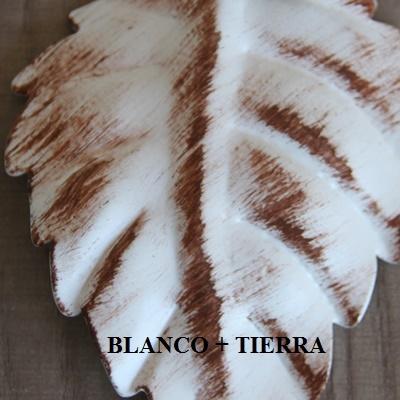 Blanco + tierra
