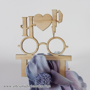 Cake Topper Harry Potter