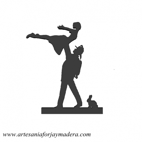 Cake Topper Bombero Dirty Dancing
