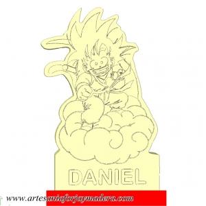 Lampara Led Quitamiedo Goku en Nube