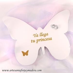 Letrero / Cartel Boda Mariposa