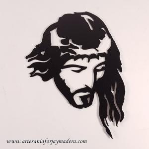 Silueta de Hierro Cristo