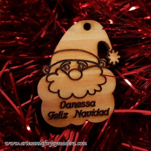 Etiqueta Navidad Papa Noel