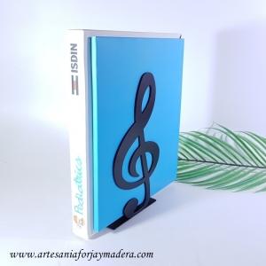 Sujeta Libros CLave de Sol Music