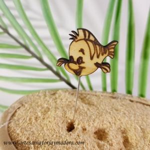 Alfiler Flounder La Sirenita