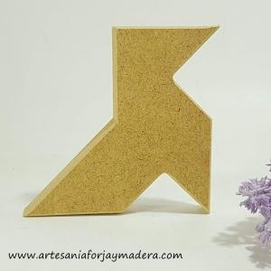 Chollo Oferta!! Silueta Palomita Origami