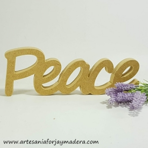 Chollo Oferta!! Letras Decorativas Peace