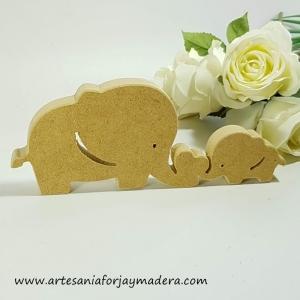 Chollo Oferta!! Silueta Juego de 2 elefantes amor