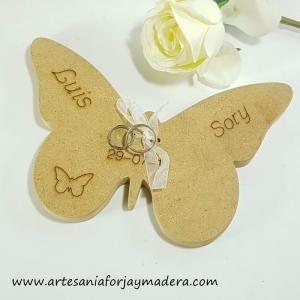 Porta Alianzas Mariposa