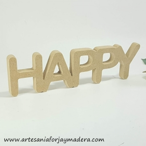Express-- Letras Decorativas Happy