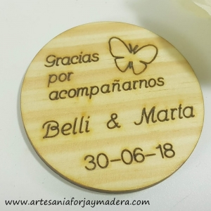 Iman Redondo con Mariposas