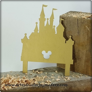 Cake Topper Castillo Disney