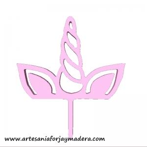 Cake Topper Unicornio