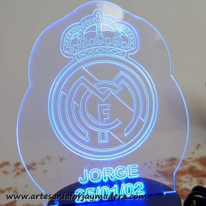 Lampara Led Real Madrid