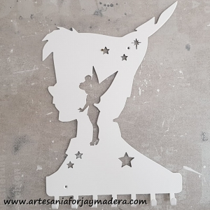 Cuelga llaves Peter Pan