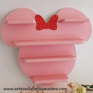 Diorama Estante Minnie Mouse