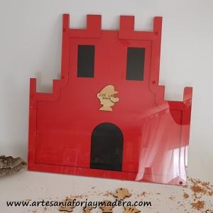 Castillo Super Mario para firmar