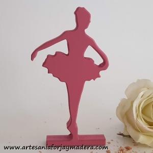 Silueta Bailarina Brazos Bajo
