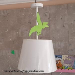Lampara Techo Sencilla Dinosaurio