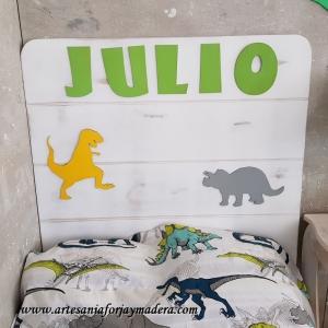 Cabecero Dinosaurios