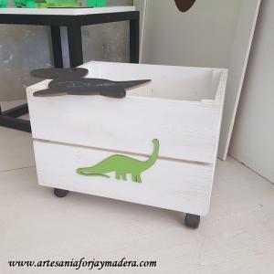 Juguetero Dinosaurio