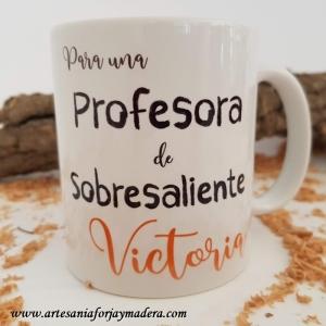 Taza Profesora de Sobresaliente