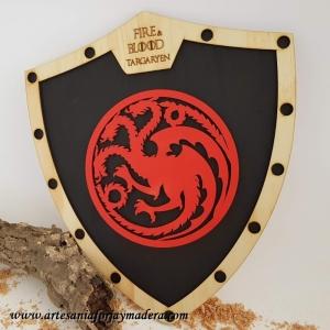 Escudo Casa Targaryen Juego de Tronos