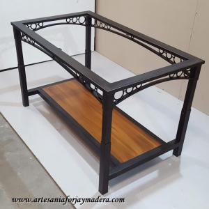 Mesa Elevable Arcas con cenefa triana