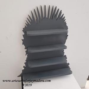 Diorama Estante Trono de Hierro Juego de tronos
