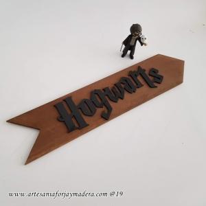 Letrero Flecha Hogwarts Harry