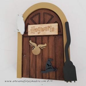 Puerta Hogwarts Harry