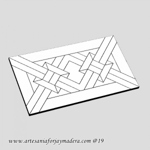 Tapa Decorativa Teide