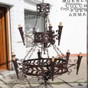 Lámpara Medievo