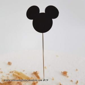 Alfiler Mickey Silueta Pintado