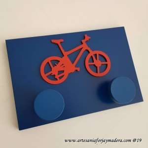 Percha Sencillo Mountain bike 3d