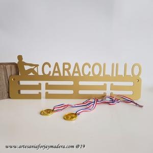 Medallero Doble Remo Masculino