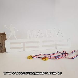 Medallero Doble Balonmano Femenino