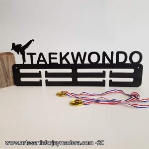 Medallero Doble Taekwondo Femenino