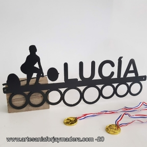 Medallero Aros halterofilia Mujer