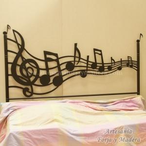 Cabecero Pentagrama Music