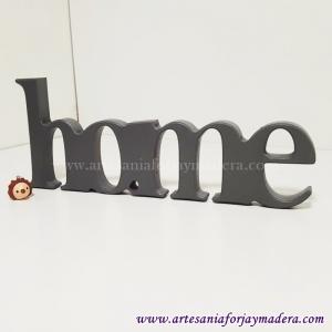Letras Decorativas Home Enlazado