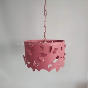 Lámpara Techo Mariposas caladas